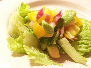 Crispy Avocado Salad