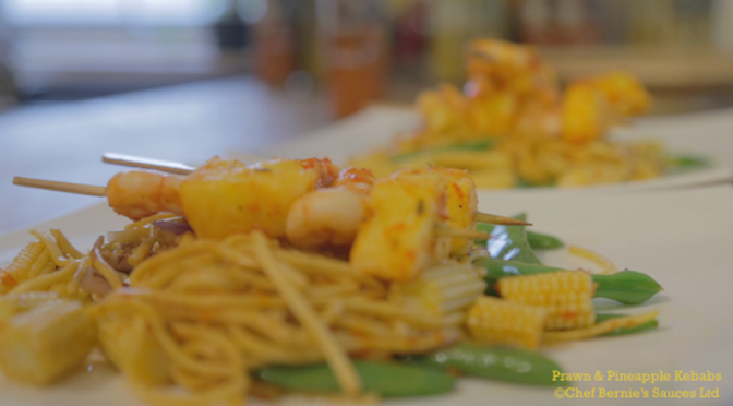 Prawn & Pineapple Kebabs