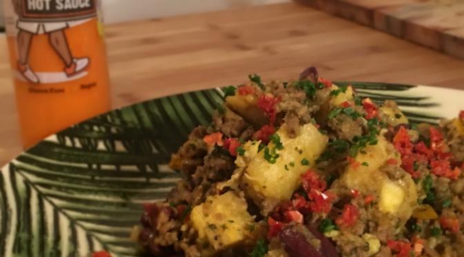 Spicy Lamb Fusion
