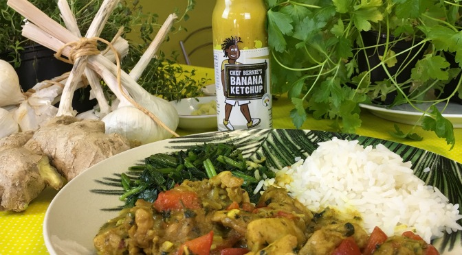 Banana Ketchup Chicken Curry