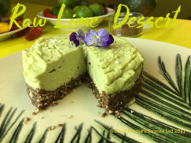 Raw Tropical Lime Dessert