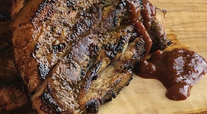 BBQ Pork Ribs Jerk Style
